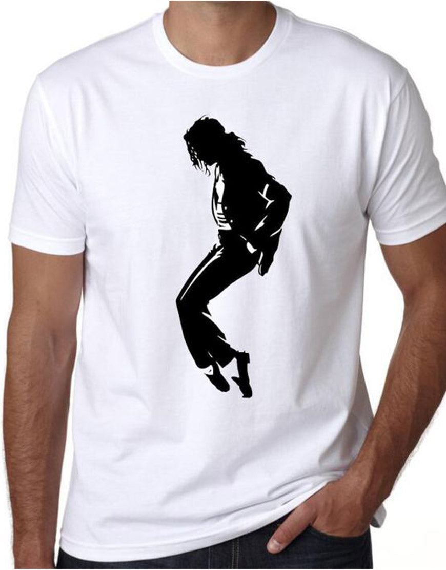 Michael Jackson Tip Toe T-Shirt White Color