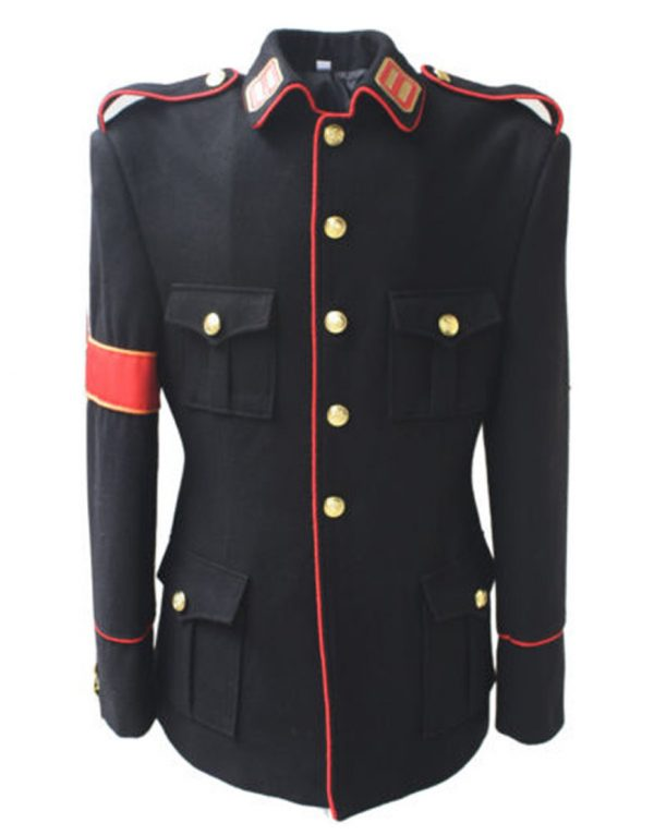 Michael Jackson CTE Military Costume Black Jacket for Man, Women, Kids