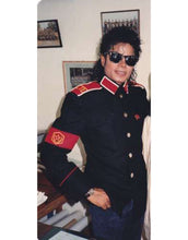 Load image into Gallery viewer, Michael Jackson CTE Military Costume Black Jacket for Man, Women, Kids