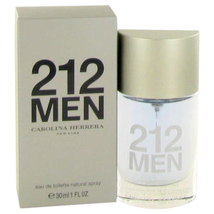 212 Eau De Toilette Spray (New Packaging) By Carolina Herrera For Men