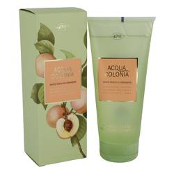 4711 Acqua Colonia White Peach & Coriander Shower Gel By Maurer & Wirtz For Women
