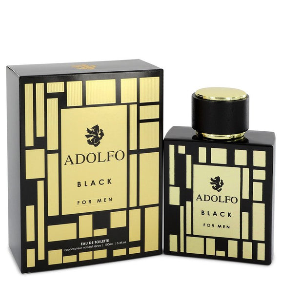 Adolfo Black Eau De Toilette Spray By Adolfo For Men