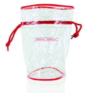 Adrien Arpel Red And Clear Bag