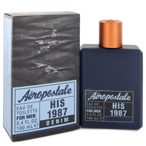 Aeropostale His 1987 Denim Eau De Toilette Spray By Aeropostale For Men
