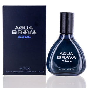 Agua Brava Azul by Puig Edt Spray For Men