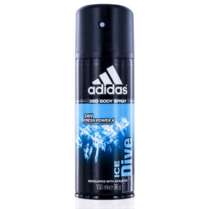 Adidas Ice Dive by Coty Deodorant & Body Spray 5.0 oz (150 ml) For Men