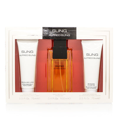 Alfred Sung by Alfred Sung 3 Piece Gift Set For Women