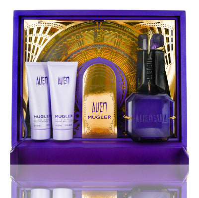 Alien by Thierry Mugler Golden Treasure 4 Piece Gift Set For Women
