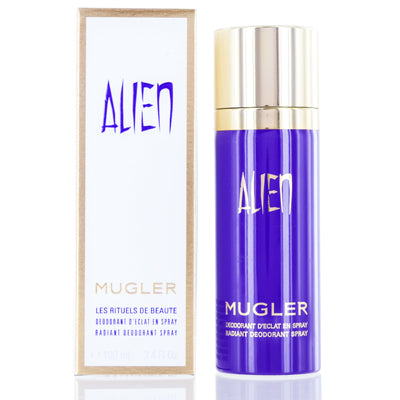 Shop for authentic Alien Thierry Mugler Radiant Deodorant Spray 3.4 Oz (100 Ml) For Women at Diaries of Paris