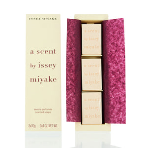 A Scent by Issey Miyake Trio Scented Soap 1.0 oz Set For Women