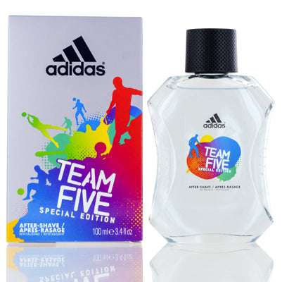 Adidas Team Five Coty After Shave Splash On Special Edition 3.4 oz (100 ml) For Men