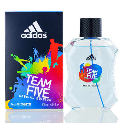 Adidas Team Five by Coty Edt Spray Special Edition For Men