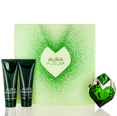 Buy online Aura by Thierry Mugler 3 Piece Gift Set For Women at diariesofparis.com