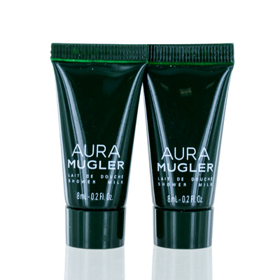 Shop for authentic Aura by Thierry Mugler Shower Body Milk Mini .2 Oz (8 Ml) For Women Set Of 2 at Diaries of Paris