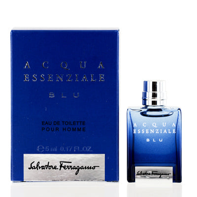 Acqua Essenziale Blu by Salvatore Ferragamo Edt Splash Mini For Men