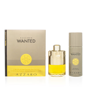 Azzaro Wanted by Azzaro Set For Men