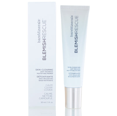 Shop for authentic Bareminerals Blemish Rescue Anti Redness Mattifying Primer 1.0 Oz (30 Ml) at Diaries of Paris