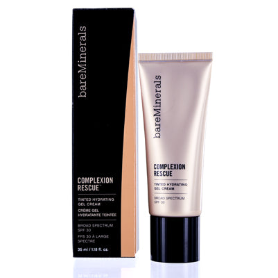 Bareminerals Complexion Rescue Tinted Hydrating Cream Gel (7) Tan 1.18 oz