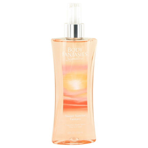 Body Fantasies Signature Sweet Sunrise Fantasy Body Spray By Parfums De Coeur For Women