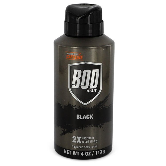 Bod Man Black Body Spray By Parfums De Coeur For Men