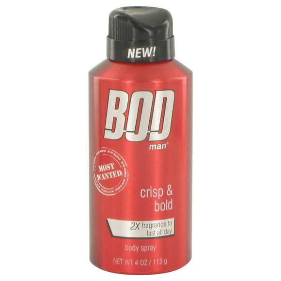 Bod Man Most Wanted Fragrance Body Spray By Parfums De Coeur For Men
