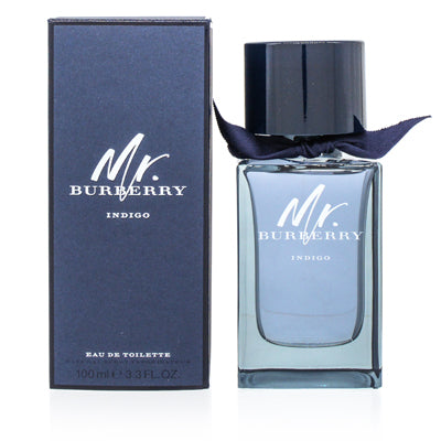 Burberry Mr Burberry Indigo by Burberry Edt Spray For Men