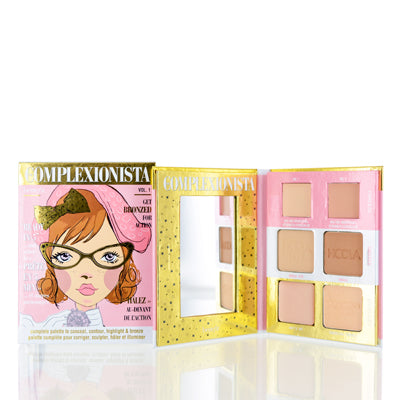 The Complexionista Face Color Palette by Benefit  0.51 Oz (3 Ml)