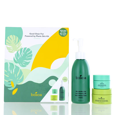 Boscia 3 Piece Good Clean Fun Powered By Plants Skin Set