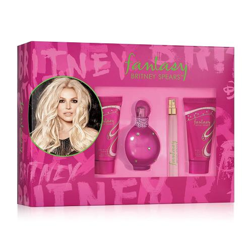 Fantasy by Britney Spears 4 Piece Gift Set For Women