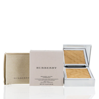 Burberry Bright Glow Flawless Bright Compact Foundation #20 Ochre 0.42 Oz 12 Ml