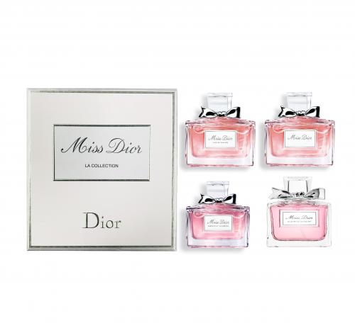 Miss Dior by Christian Dior 4 Piece Mini Gift Set For Women
