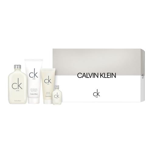 Ck One by Calvin Klein Set 4 Piece Set Unisex For Men and For Women