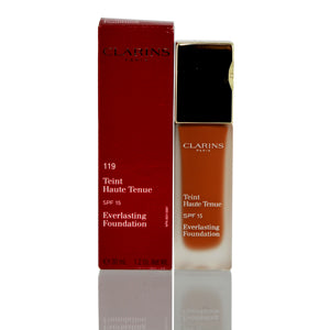 Clarins Everlasting Foundation Spf 15 (119) Cocoa 1.2 Oz (30 Ml.)