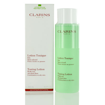 Clarins Toning Lotion With Iris Alcohol Free 6.8 oz