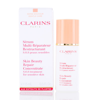 Clarins Skin Beauty Repair Concentrate -S.O.S Treatment for Sensitive Skin 0.5 Oz
