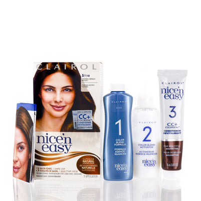 Clairol Nice 'N Easy 5/118 Natural Medium Brown Kit
