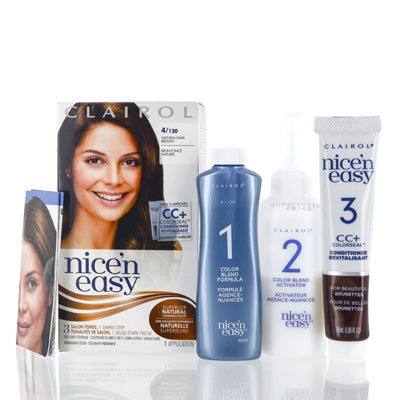 Shop for authentic Clairol Nice 'N Easy (4 120 Natural Dark Brown) Kit at Diaries of Paris