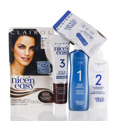Clairol Nice 'N Easy 2/122 Natural Black Kit