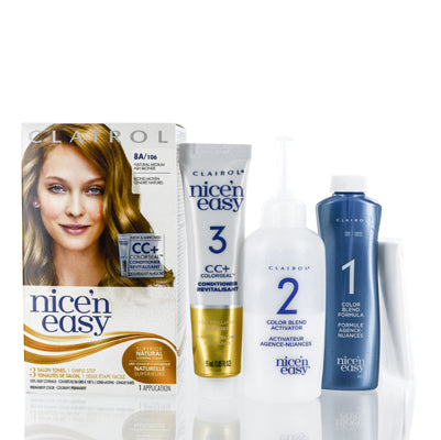 Shop for authentic Clairol Nice 'N Easy 8A 106 Natural Medium Ash Blonde Kit at Diaries of Paris