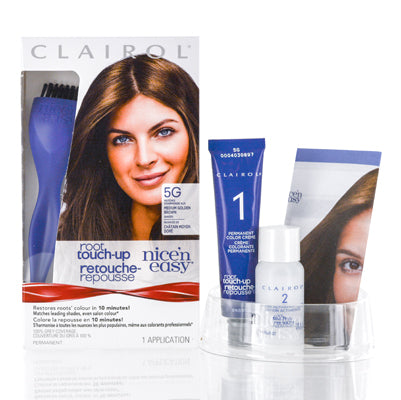Shop for authentic Clairol  Nice 'N Easy Root Touch Up (005G Medium Gold Brown) Kit at Diaries of Paris