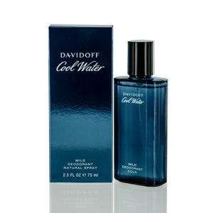 Coolwater Men by Davidoff Deodorant Spray Glass For Men