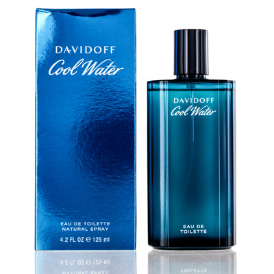 Coolwater Men by Davidoff Edt Spray For Men 4.2 oz 2 Pack
