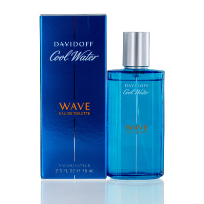 Shop for authentic Cool Water Wave Davidoff Edt Spray 2.5 Oz (75 Ml) For Men at Diaries of Paris