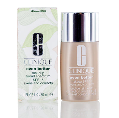 Clinique Even Better Makeup Shades 20-74 with Spf 15 1.0 Oz