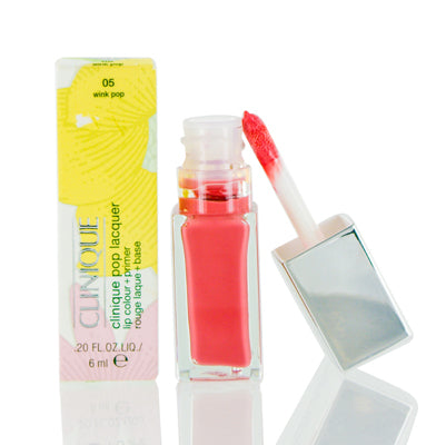 Shop for authentic Clinique Pop Lacquer Lip Colour (Gloss) + Primer 05 Wink Pop .20 Oz at Diaries of Paris