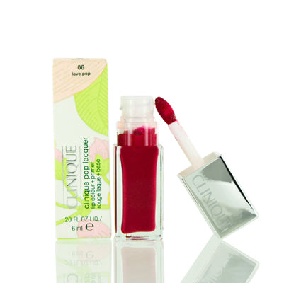 Clinique Pop Lacquer Lip Colour (Gloss) + Primer 06 Love Pop .20 Oz