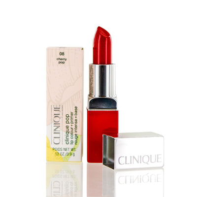 Shop for authentic Clinique Pop Lip Colour + Primer 08 Cherry Pop 0.13 Oz at Diaries of Paris