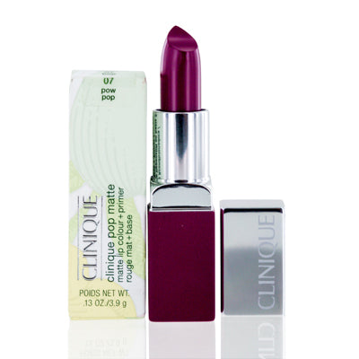 Clinique Pop Matte Lip Color + Primer 07 Pow Pop  .13 Oz