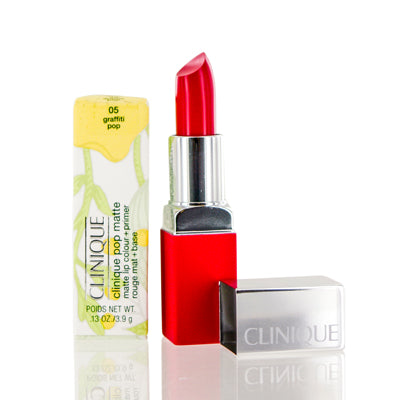 Clinique Pop Matte Lip Color + Primer 05  Graffiti Pop  .13 Oz