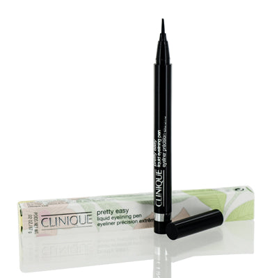 Clinique Pretty Easy 01 Black Eye Liner Liquid 0.02 Oz (.6 Ml)
